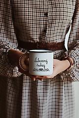 Nádoby - Smaltovaný hrnček - Som ľúbe(z)ný šuhaj - 11112608_
