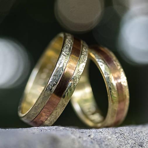 Zlatá stredná cesta  /svadobné obrúčky/