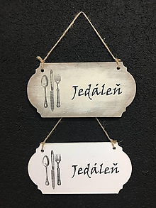 """Dekorácie - Tabuľka """" Jedáleň """" - 11115103_"""