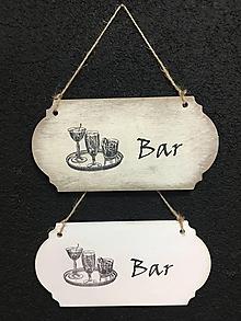 "Dekorácie - Tabuľka "" Bar "" - 11115167_"