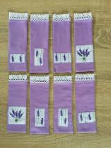 Úžitkový textil - Vrecúška na levanduľu - 11116507_