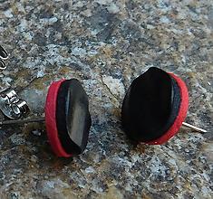 Náušnice - napichovačky vlnky duo - 11114290_
