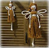 Bábiky - špagáty anjel - 11116386_