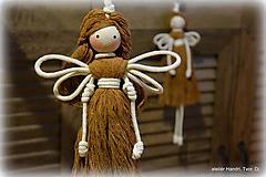 Bábiky - špagáty anjel - 11116387_