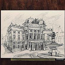 Kresby - Bratislava Divadlo - 11114621_