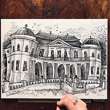 Kresby - Michalovce Kaštieľ - 11114628_