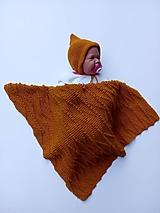 Textil - Detská pletená deka - 11114485_
