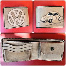 Doplnky - Pánska kožená peňaženka Volkswagen - 11116797_