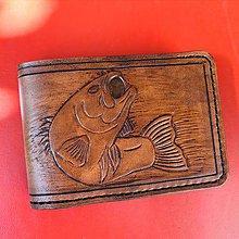Doplnky - Pánska kožená peňaženka Sumec - 11116822_