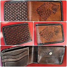 """Doplnky - Pánska kožená peňaženka """"Game of Thrones"""" - 11116848_"""