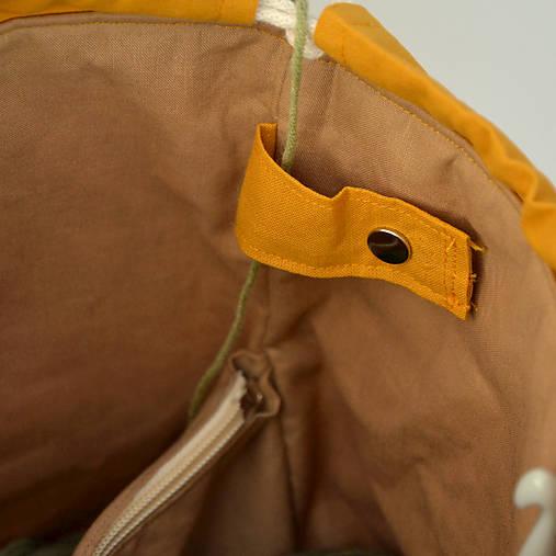 """Tvoritaška """"Mamka ježková"""" ~ projektová taška"""