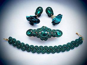 Sady šperkov - Šujtášový set Milka - 11116006_
