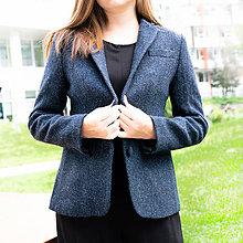Kabáty - Tvídové sako - 100% vlna - 11116073_