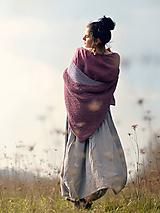 Pléd Elizabeth Bennet - Starorůžový sytější