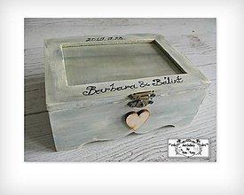 Krabičky - Krabica s fotkou-darček pre svadobčanov :) - 11116234_