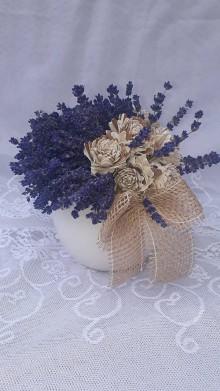 Dekorácie - Levanduľová kytička na stôl - 11114981_
