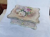 Krabičky - Vintage šperkovnica - 11115987_