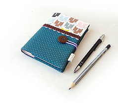 Papiernictvo - Zápisník Mačacie hlavičky - A6 - 11113853_