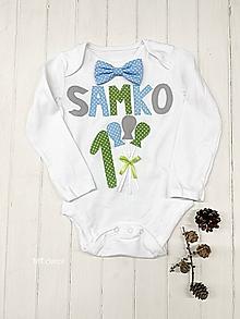 Detské oblečenie - BODY, BODIČKO na oslavu, personalizované TRIČKO - 11115314_