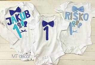 Detské oblečenie - BODY, BODIČKO na oslavu, personalizované TRIČKO - 11116295_