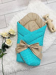 Textil - ZAVINOVAČKA, perinka pre najmenších - 11116896_