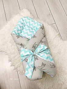 Textil - ZAVINOVAČKA, perinka pre najmenších - 11116899_