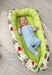 Textil - HNIEZDO pre bábätko - xxl - 11116955_
