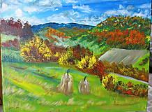 Obrazy - Jeseň už je tu - 11114366_