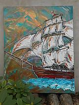 Obrazy - S vetrom v plachtách - 11115575_