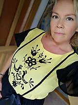 Šaty - Ručne vyšívané šaty na ples - 11115317_