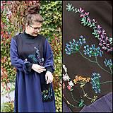 Šaty - Šaty ručne vyšívané...UNI - 11119008_