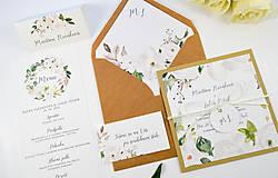 Papiernictvo - Svadobné oznámenie Olívia 2 - 11117657_