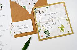 Papiernictvo - Svadobné oznámenie Olívia 2 - 11117658_