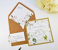 Papiernictvo - Svadobné oznámenie Olívia 2 - 11117660_