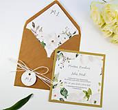 Papiernictvo - Svadobné oznámenie Olívia 2 - 11117661_