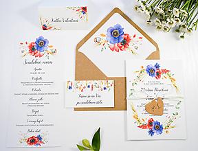 Papiernictvo - Svadobné oznámenie Naše polia - 11117813_