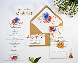 Papiernictvo - Svadobné oznámenie Naše polia 2 - 11117866_