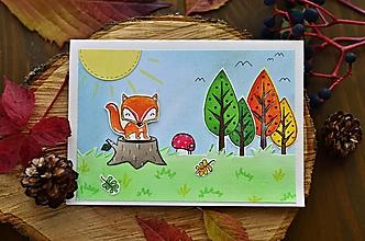 Papiernictvo - V jesennom lese - 11119286_