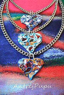 Náhrdelníky - HEART - 11119052_