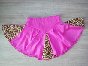 Detské oblečenie - Sukňa na krasokorčuľovanie - 11119359_