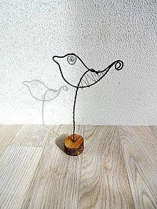 Dekorácie - dekorácia vtáčik - 11118958_