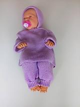 Detské oblečenie - Detský pletený set - 11118149_
