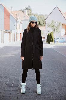 Kabáty - Bunda Olívia (Zimný softshell) (S - Čierna) - 11118390_