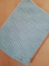 Textil - DEKA pre bábätko - modrá - 11117257_