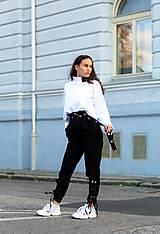 Nohavice - MONACO PANTS BLACK - 11116992_