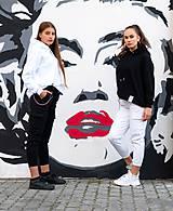 Mikiny - MONACO mikina s kapucňou biela - 11117349_