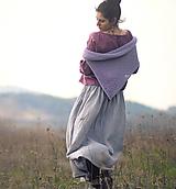 Pléd Elizabeth Bennet - Lila