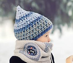 Detské čiapky - Skřítek od zamrzlého potoka - 11117992_