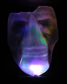 Dekorácie - Svietiaca maska - 11119047_