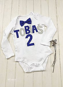 Detské oblečenie - BODY, BODIČKO na oslavu, personalizované TRIČKO - 11117081_